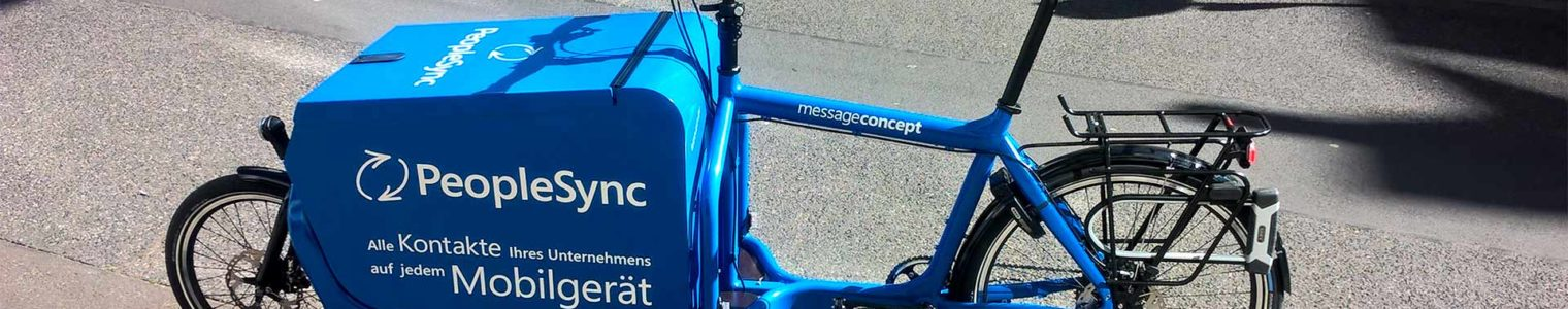 messageconcept cargo bike