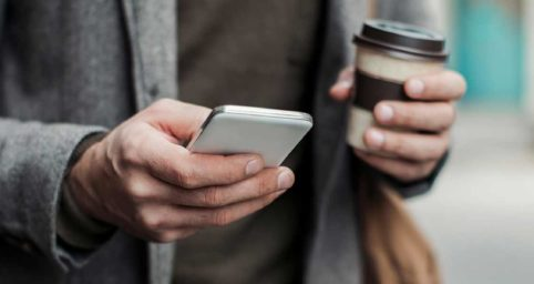CRM-Kontakte auf mobilen Geräten