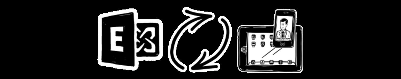 peoplesync sync exchange contact folders to iphones and ipads