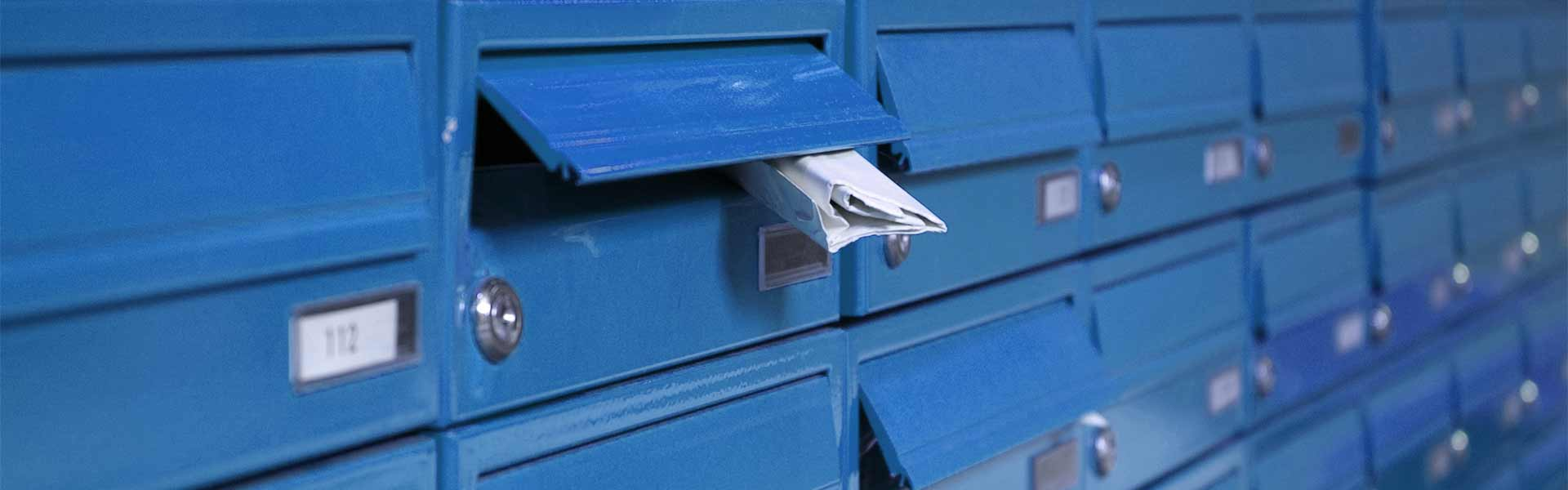 messageconcept inhouse mailboxes